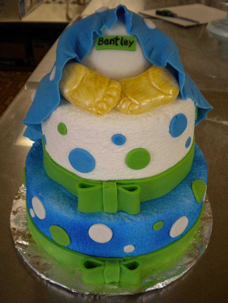 Suzanne S Flowers Amp Patty S Cakes Baby Shower Cakes